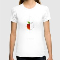 half life T-shirts featuring HALF (apple) LIFE by Nillustra™