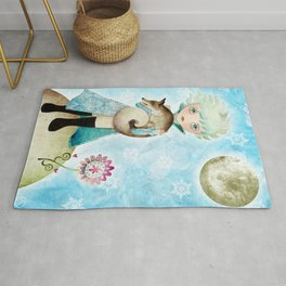 Wintry Little Prince Rug