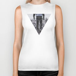Photographic Path - Geometric Photography Biker Tank