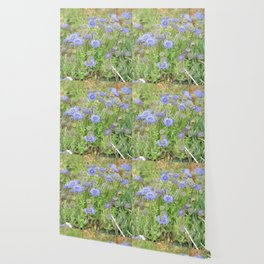 Flowers on the cornish coat Wallpaper