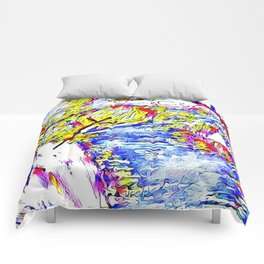 Abstract clear, nature Comforters