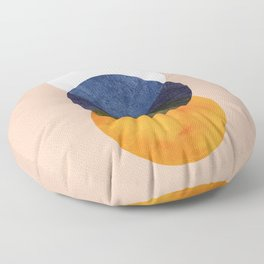 Planets in line Floor Pillow