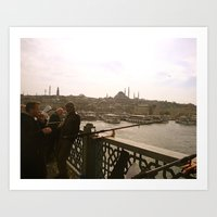 Midday in Istanbul Art Print