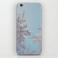sakura iPhone & iPod Skins featuring Sakura by Luke J