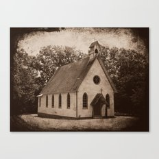 Where Once We Worshipped Canvas Print