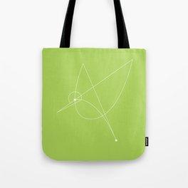 Contours: Hummingbird (Line) Tote Bag