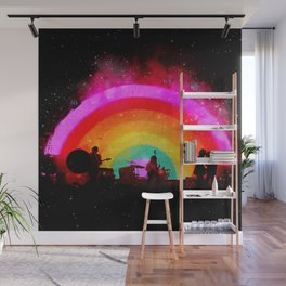 The Flaming Lips Space Rainbow Wall Mural