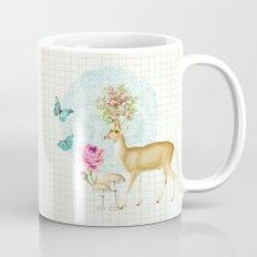 Doily deer Coffee Mug