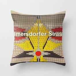 Berlin U-Bahn Memories - Wilmersdorfer Strasse Throw Pillow