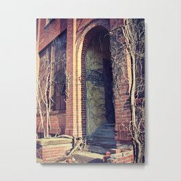 Vine Takeover at the Abandoned Factory Metal Print