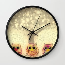 owl-222 Wall Clock