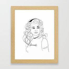 Feminist Dolly Framed Art Print