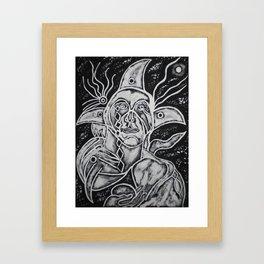 SPIRIT WORLD Framed Art Print