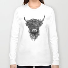 Highland Cattle Long Sleeve T-shirt