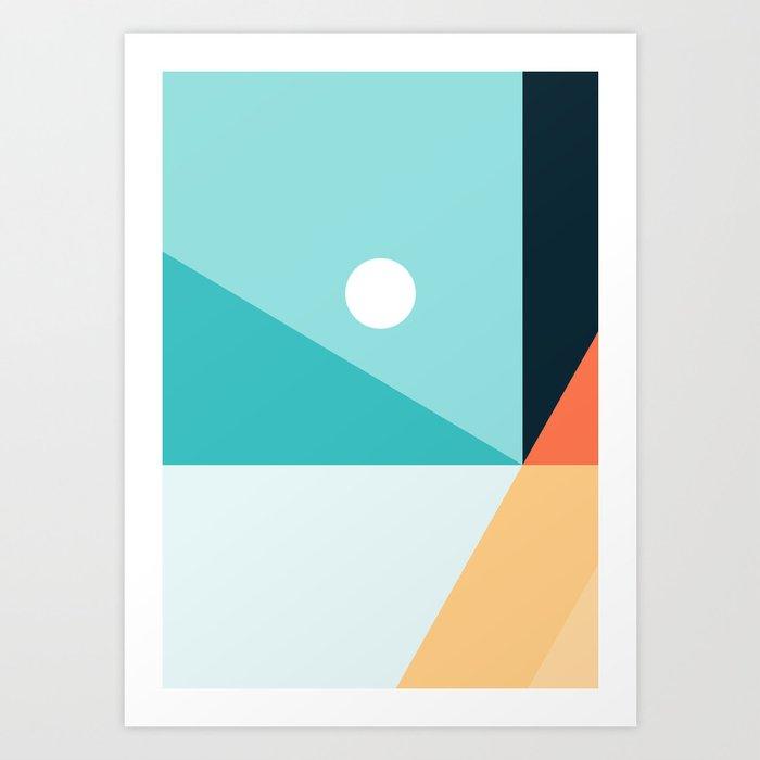 Geometric 1710 Art Print
