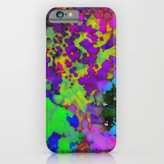 Floral Splatter iPhone & iPod Case