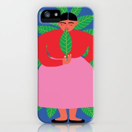 mamita coca iPhone Case