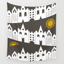 houses Wall Tapestry