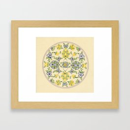 Tezhib art Framed Art Print