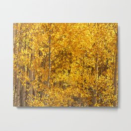 Season Of Gold 3d Panel Split Triptych Metal Print