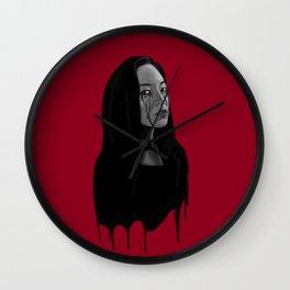 Bad Blood II Wall Clock