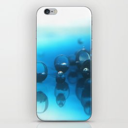 Another world. Oil and Water photgraphy. iPhone Skin