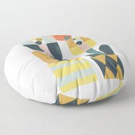 Two flowers Floor Pillow