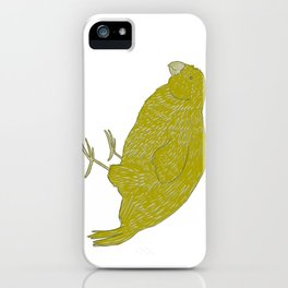Kakapo Says Hello! iPhone Case
