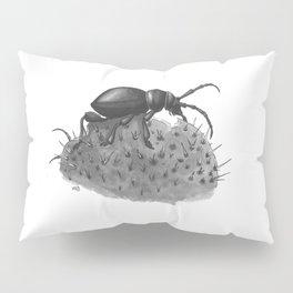 Inktobober 2016: Cactus Longhorn Beetle Pillow Sham