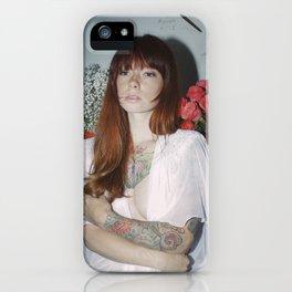 Hattie Floral iPhone Case
