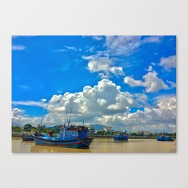 Cai River Vietnam Canvas Print