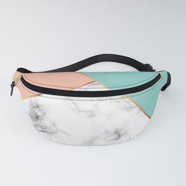 Marble Geometry 056 Fanny Pack
