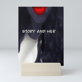 Story and Her Merchandise Mini Art Print