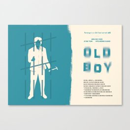 Old Boy Canvas Print