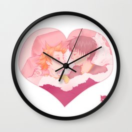 Let's keep the cape! Wall Clock