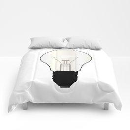 Isolated Light Bulb Comforters