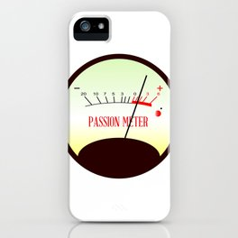 Red Hot Passion Meter iPhone Case