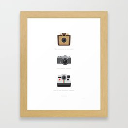 Viewfinder Framed Art Print