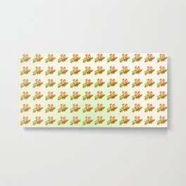 Dotted with flowers Metal Print