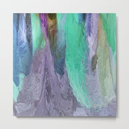 413 - Abstract Colour Design Metal Print