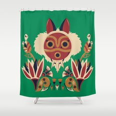 Mono Deco Shower Curtain
