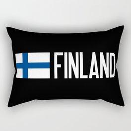 Finland: Finnish Flag & Finland Rectangular Pillow