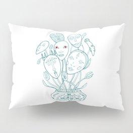 Bouquet of masks Pillow Sham
