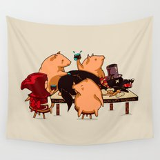 Dinner With Friends Wall Tapestry