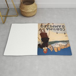 Vintage poster - Cortina d'Amprezzo Rug
