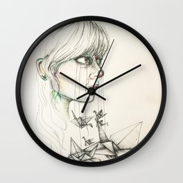 Changing Perspective Wall Clock