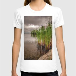 Driftwood And Cattails T-shirt