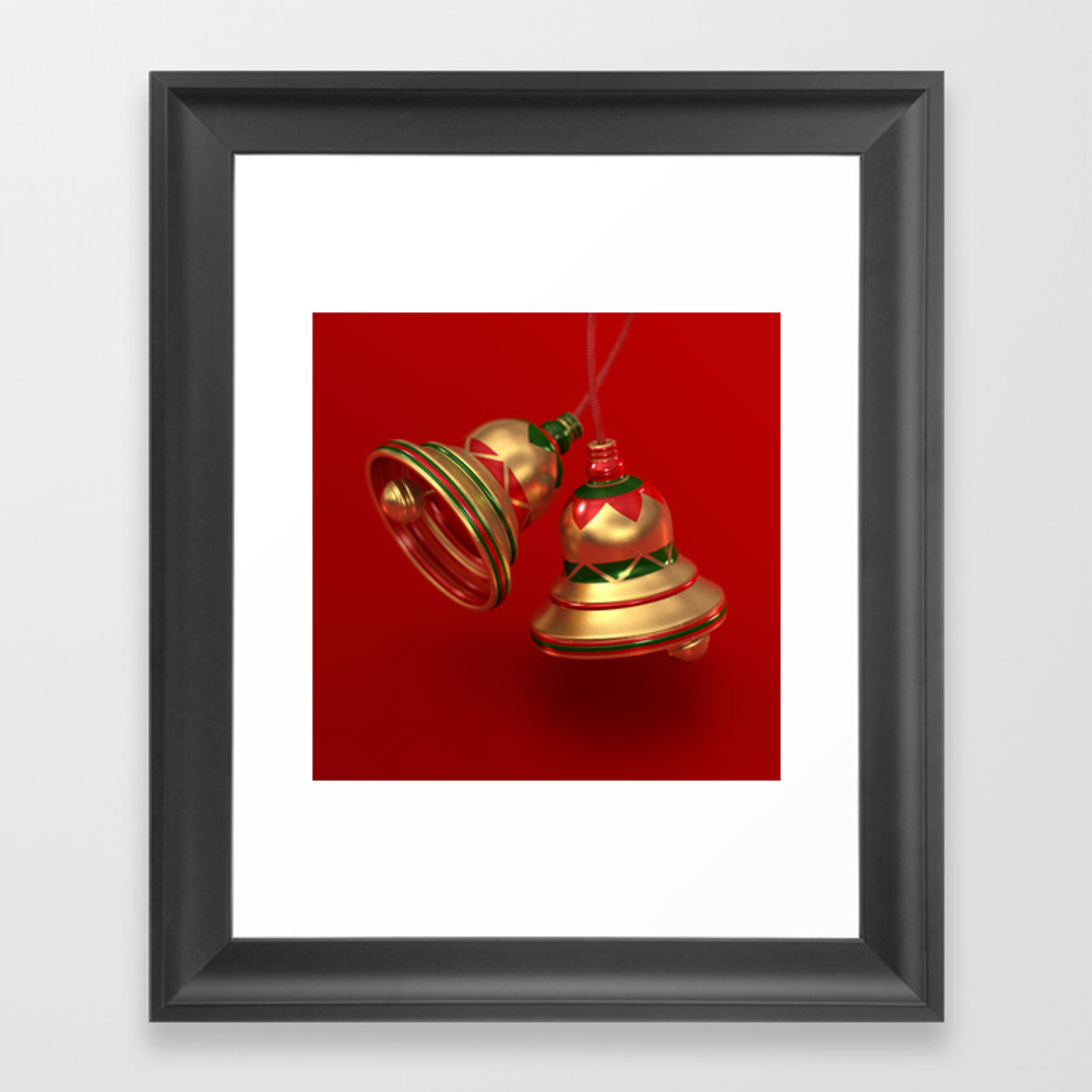 Ding Dong Framed Art Print by Perrylcooper FRM8412522