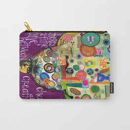 Chaos and Creativity Carry-All Pouch