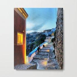 Santorini 29 Metal Print
